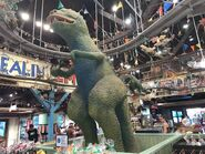 Dinoland USA Gift Shop Retro Allosaurus