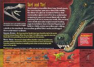 Sarcosuchus back