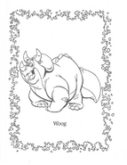 We're Back coloring page 2