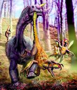 Astrodon-and-utahraptor