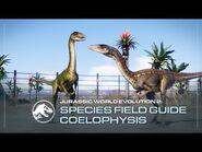 Species Field Guide - Coelophysis - Jurassic World Evolution 2