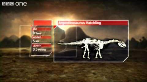 Argentinosaurus - Planet Dinosaur - Episode 5 - BBC One
