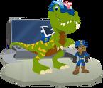 Troopersaurus the T-Rex