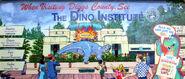 Animal Kingdom Dino Institute Mural