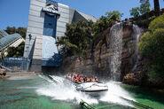 Jurassic World the Ride - Splashdown
