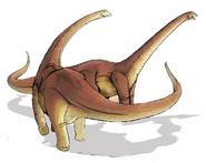 Alamosaurus sanjuanensis dinosaur