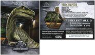 Walmart Pizza Jurassic World Velociraptor