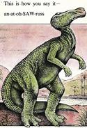 Anatosaurus The Egg Stealer