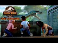 Setting the Dinosaurs Free - JURASSIC WORLD CAMP CRETACEOUS - NETFLIX