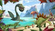 Plesiosaurus Gigantosaurus Know Your Dino Disney Junior