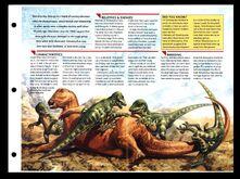 Wildlife fact file Deinonychus inside