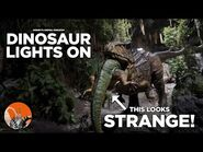 Dinosaur Lights ON and Evac - Disney's Animal Kingdom - Theme Park Center