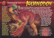 Iguanodon front
