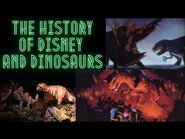 The History of Disney and Dinosaurs