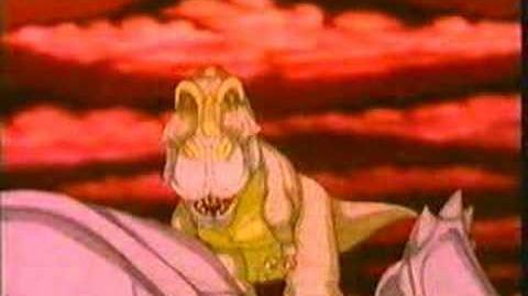 Dinosaur Animation 2 Tyrannosaurus vs Triceratops