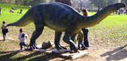 Plateosaurus statue