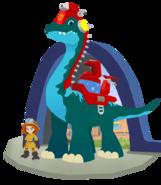 Blazeasaurus the Brachiosaurus