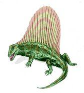 Dimetrodon BW
