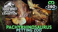 Jurassic World The Exhibition - Pachyrhinosaurus 360º 4K VirtualReality VR 360Video