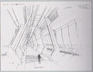 Dino Crisis 3 concept art - Airlock 1
