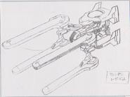 Dino Crisis 3 concept art - Tempest 1