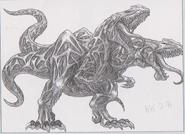 Dino Crisis 3 concept art - Cebalrai 2