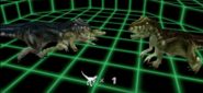 Screenshot of Green Allosaurus