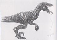 Dino Crisis 3 concept art - Algol 2