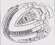 Dino Crisis 3 concept art - Juggernaut 1