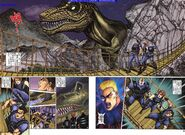 Dino Crisis Issue 2 - pages 8 and 9