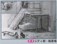 Dino Crisis 2 Official Guide book - City Outskirts 1 concept art