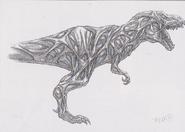 Dino Crisis 3 concept art - Australis 1