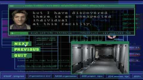Dino Crisis - Cutscene 1