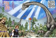 Dino Crisis Issue 3 - pages 32 and 33