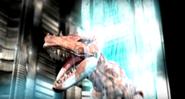 Giganotosaurus killed by beam