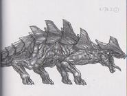 Dino Crisis 3 concept art - Regulus 2