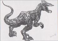 Dino Crisis 3 concept art - Algol 1