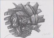 Dino Crisis 3 concept art - Regulus 1