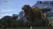 Siats vs tyrannosaurs