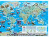 Répartition des dinosaures dans le monde