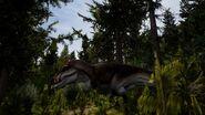 Acrocanthosaurus the isle