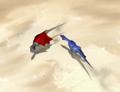 Bullfighting with dinosaurs