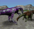 Undersized Saltasaurus