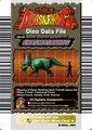 Chasmosaurus Card Eng S1 1st back