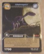 Utahraptor TCG Card 3
