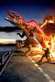 Dinosaur King Acrocanthosaurus Alpha