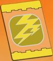 Lightning Move Card back
