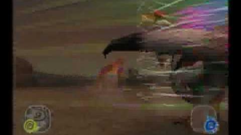 Dinosaur King Arcade Game Battle Scene Therizinosaurus