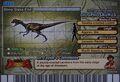 Dilophosaurus Card Eng S2 2nd back