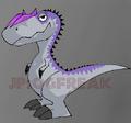 Allosaurus chibi by JPOGFreak